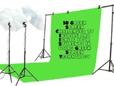 20 Green Screen Challenge Cards Bundle (Perfect for Maker Space)