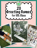 20 Greeting Games for EFL ESL English as a Second Language Class
