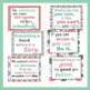 20 Growth Mindset Inspirational Quote Posters in Coral, Mint Green and Gray