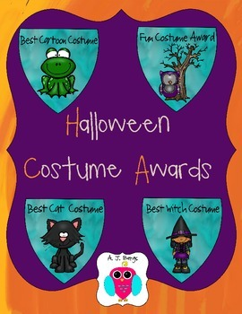 20 Halloween Costume Awards
