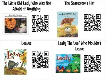20 Halloween and Fall QR Codes