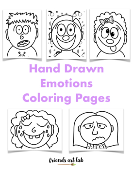 Set of Emoji coloring page | Free Printable Coloring Pages | 350x274