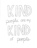 20 Hand-drawn Kindness Quotes