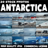 20 High Quality Stock Images - Antarctica - Commercial use OK!