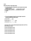 20 Higher Thinking Place Value in Multi Digit Number Probl