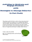 20 Ideas for Behavior Management PLUS 20 Activities to Engage Students