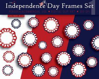 20 Independence day frames, 4th of july frames, memorial day frames, patriotic