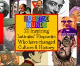 20 Inspiring Latinos Spanish Adjectives Google Classroom Distance Learning