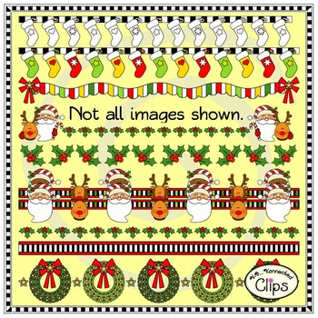 """20 """"It's Christmas"""" Page Dividers"""