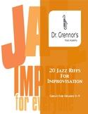 20 Jazz Riffs for Improvisation