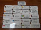 20 Laminated Math Addition Word Problem Flash Cards.  Preschool Number Card