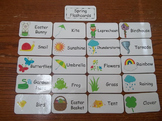 20 Laminated Spring Flash Cards.  Preschool Picture Word Cards.