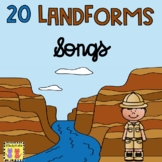 20 Landforms Songs   Definitions   Geography