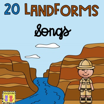 20 Landforms Songs | Definitions | Geography