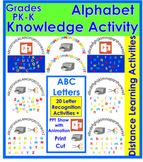 20 Letter Recognition Activities + Distant Learning Activities