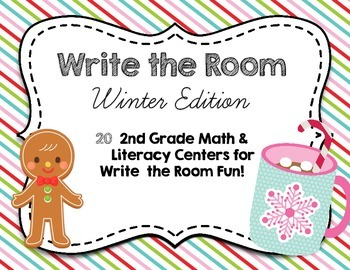 20 Literacy and Math Centers for Winter