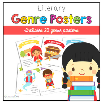 20 Literary Genre Posters