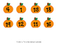 20 Little Pumpkins: A 10 Frame Even and Odd Activity