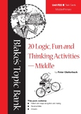 20 Logic, Fun and Thinking Activity Task Cards