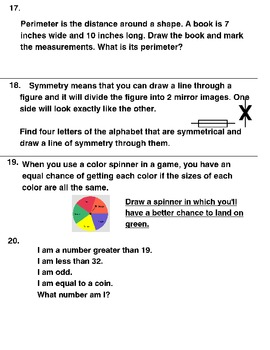 20  MATH LEARNING CENTER TASK CARDS  WITH WORD PROBLEMS Grades 2-3