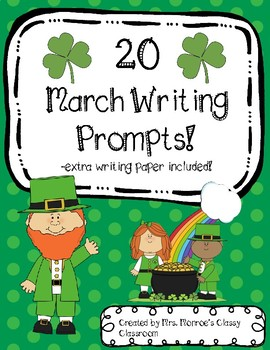 20 March Writing Prompts for Creative Writing!