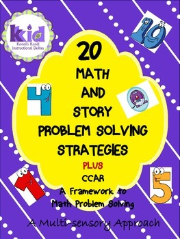 20 Math and Story Problem Solving Strategies