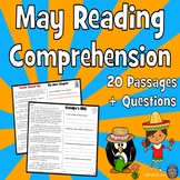 20 May Reading Comprehension Passages: End of the Year Activities