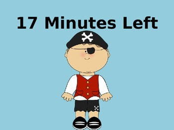 20 Minute Timer (Pirate Theme)