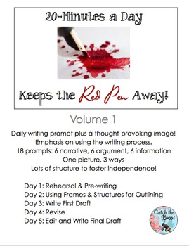 Daily Paragraph Writing: 20 Minutes a Day Keeps the Red Pen Away, V.1