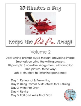 Daily Paragraph Writing: 20 Minutes a Day Keeps the Red Pen Away, V.2