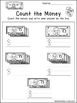 20 Money Worksheets. Coin Addition, Paper Money Addition, Money Counting, KDG-1s