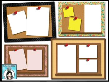 20 Google Slides Bulletin Board Style Templates
