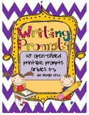 20 More Printable Writing Prompts for Centers and Writer's
