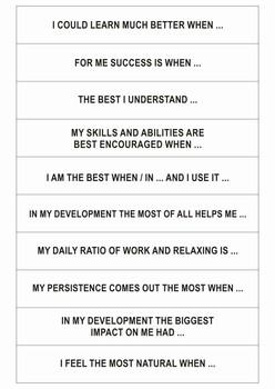 20 Motivation life cards