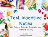24 Motivational Test Notes (Incentives)