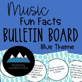 20 Music Fun Fact Bulletin Board Cutouts