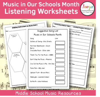 20 Music in Our Schools Month Listening Activities