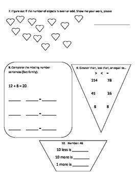 20 Nights of Math Homework