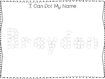 20 No Prep Brayden Name Tracing and Activities. Non-editable. Preschool-KDG Hand