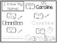 20 No Prep Caroline Name Tracing and Activities. Non-editable. Daycare Name Acti