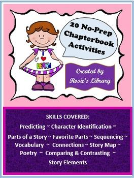 20 No-Prep Chapter Book Activities