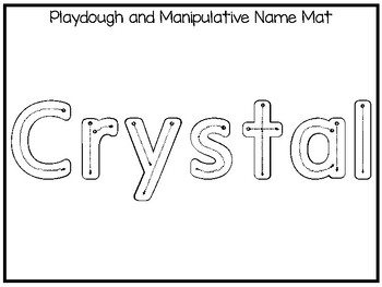 20 No Prep Crystal Name Tracing and Activities. Non-editable. Daycare Name Activ
