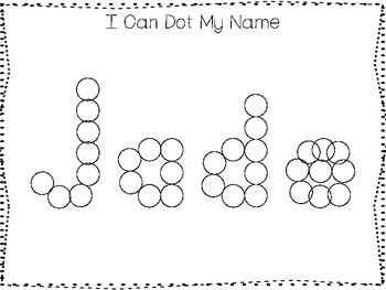 20 No Prep Jade Name Tracing and Activities. Non-editable. Daycare Writing Activ