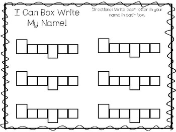 20 No Prep Keegan Name Tracing and Activities. Non-editable. Preschool-KDG Handw
