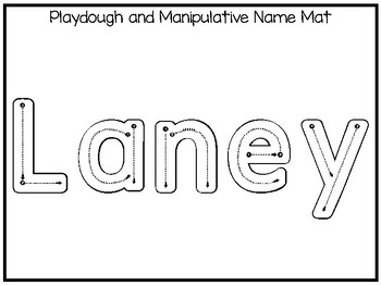 20 No Prep Laney Name Tracing and Activities. Non-editable. Daycare Handwriting