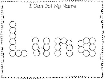 20 No Prep Luna Name Tracing and Activities. Non-editable. Daycare Handwriting A