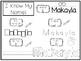 20 No Prep Makayla Name Tracing and Activities. Non-editable. Preschool-KDG Hand