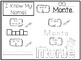 20 No Prep Monte Name Tracing and Activities. Non-editable. Preschool-KDG Handw