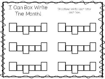 20 No Prep My Birthday Month August Tracing Worksheets and Activities. Handwriti