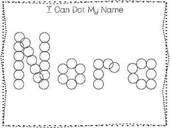 20 No Prep Nora Name Tracing and Activities. Non-editable. Daycare Writing Activ
